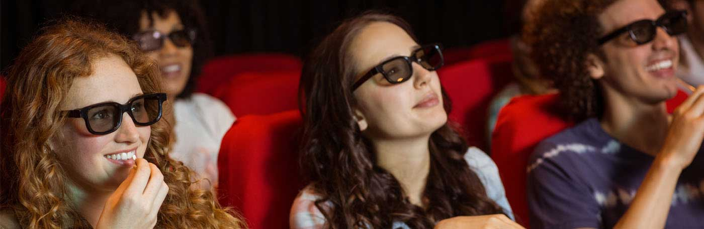 SEE THE HOTTEST MOVIES IN 3-D